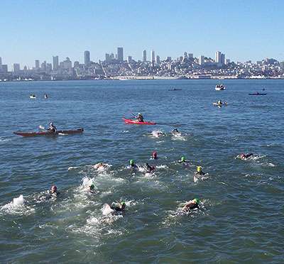 Featured photo for Alcatraz Challenge Aquathlon