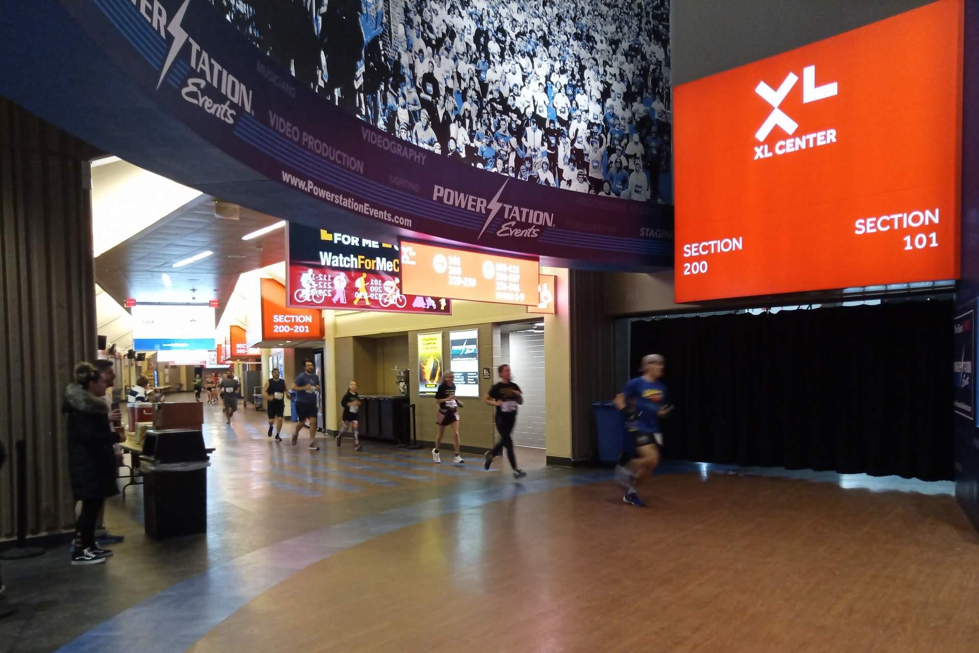 Featured photo for Arena Attack Indoor Marathon