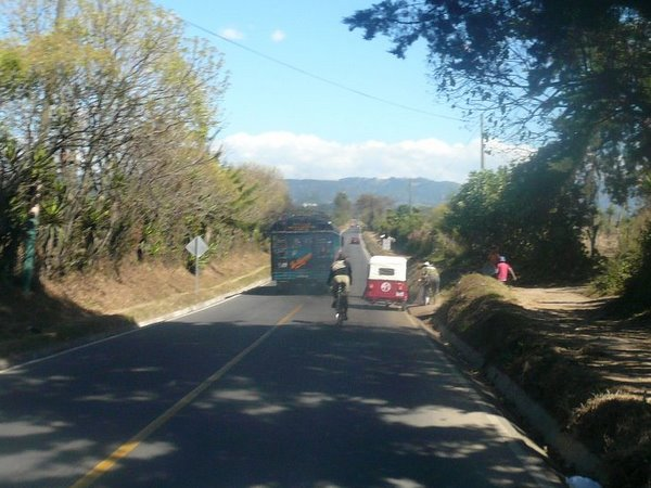 Featured photo for Bicycling to Chimaltenango
