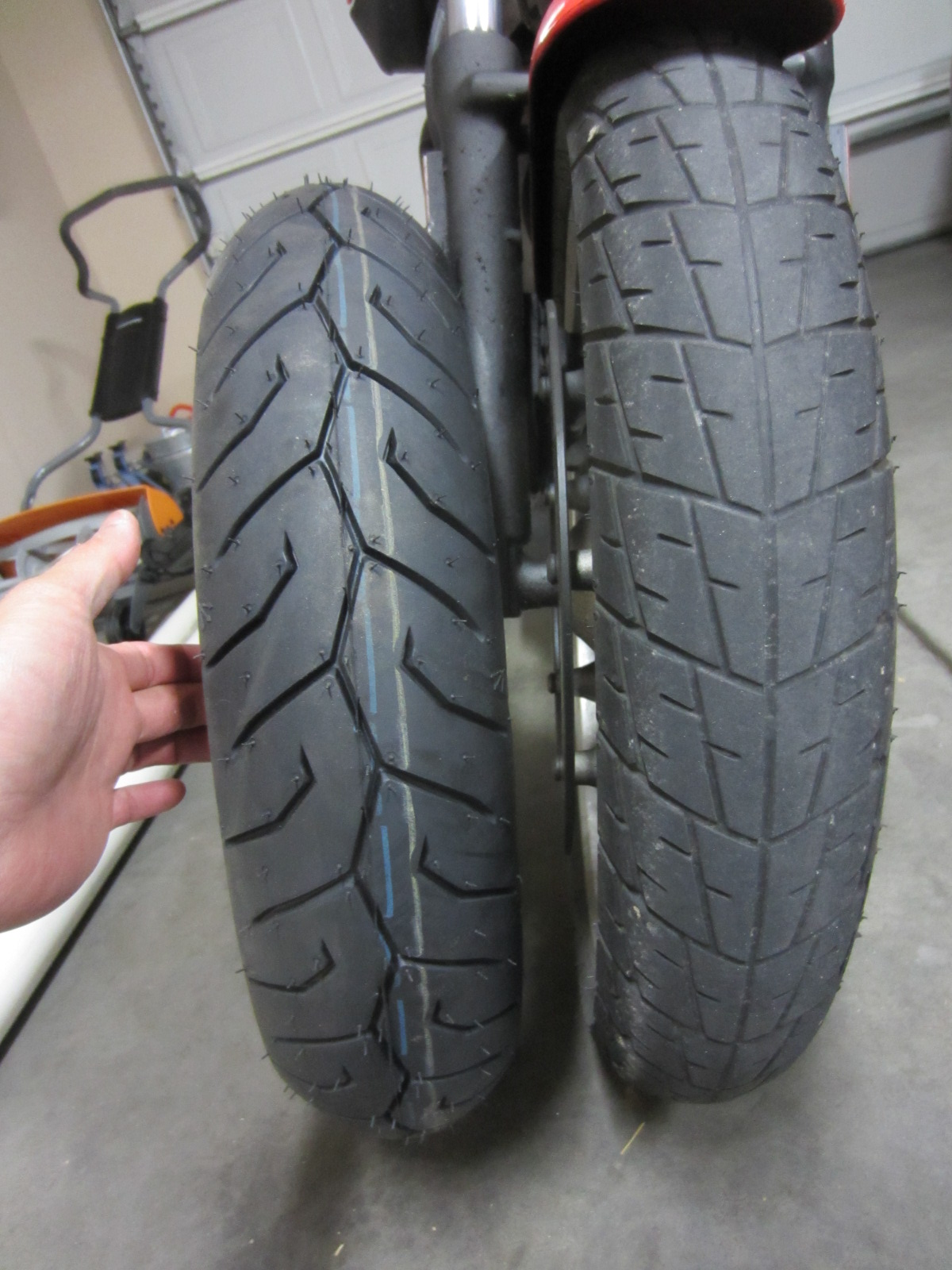 buell blast tire replacement