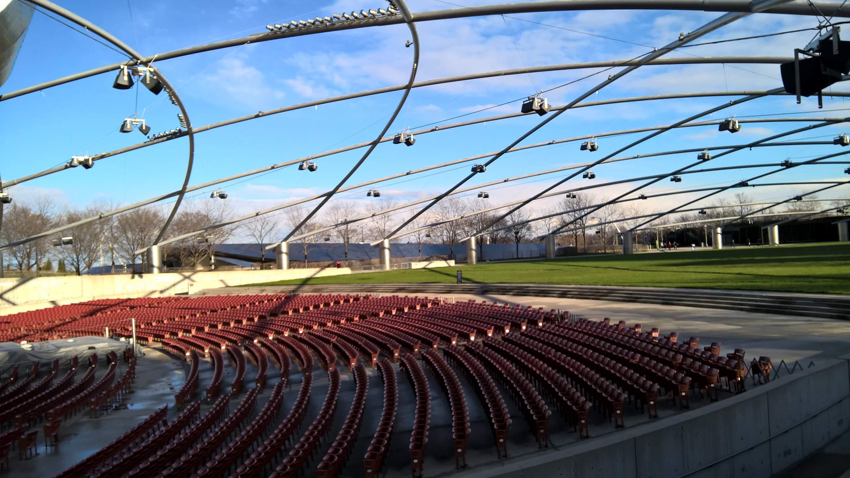 Outdoor Amphitheater At Millennium Park