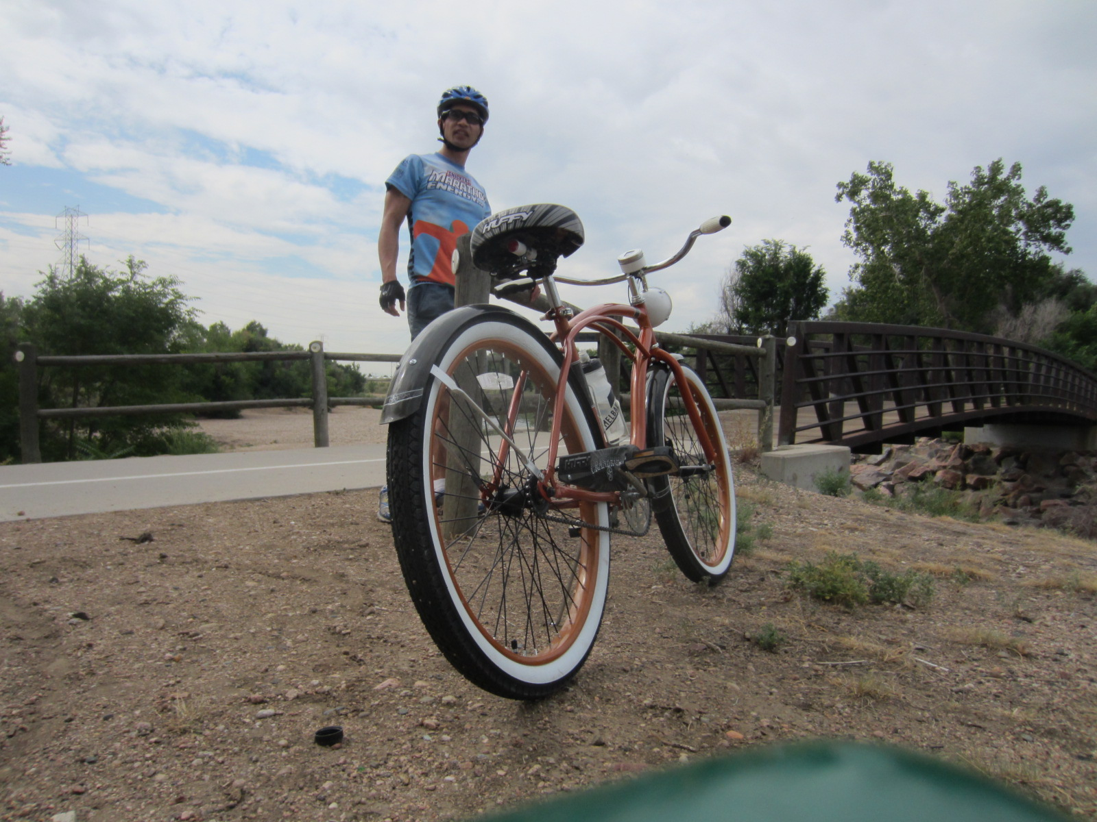 Featured photo for 300 Miles in 2 Days on a 41-lb., One-Speed Huffy Cruiser