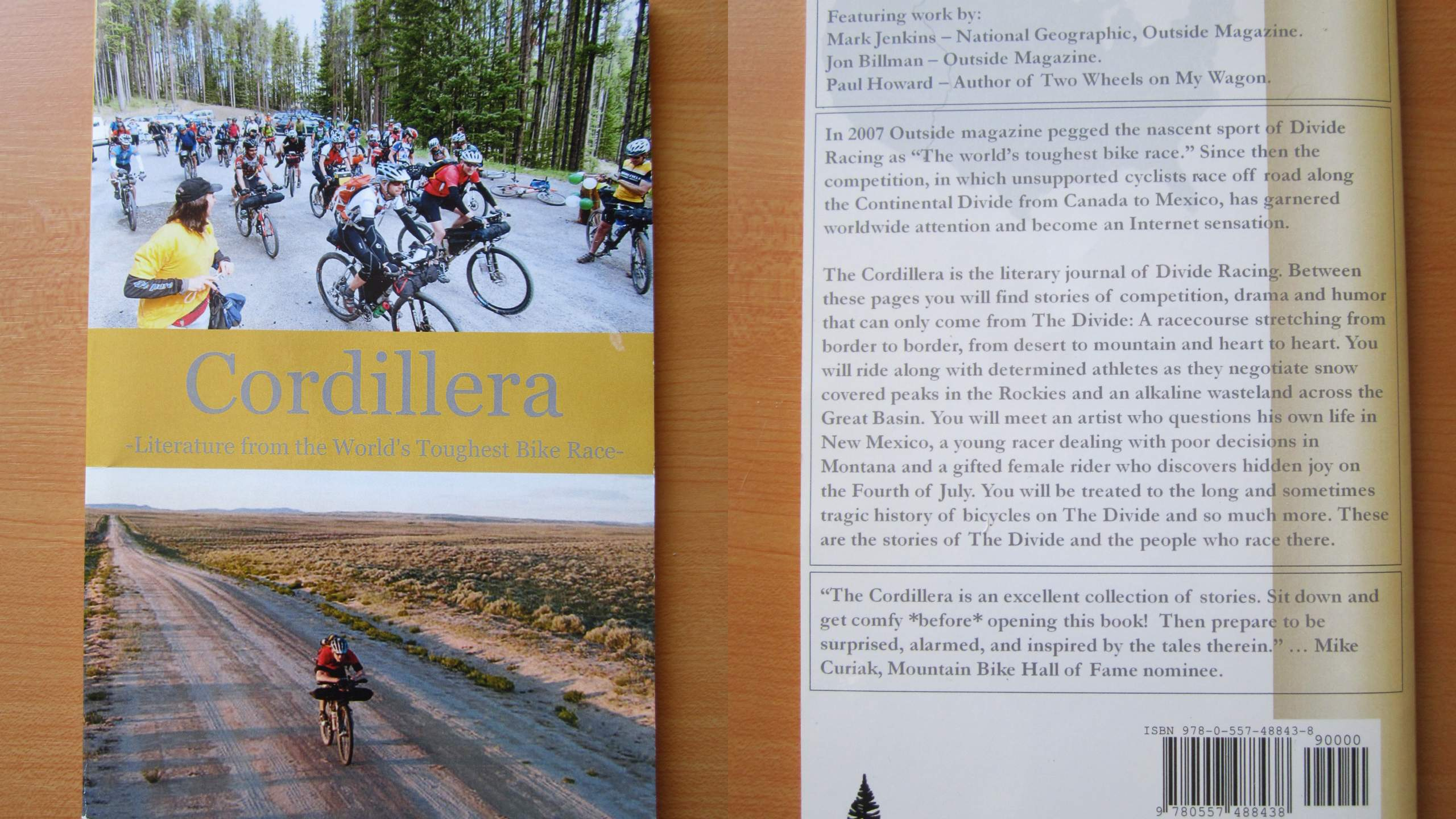 Cordillera: Literature from the World's Toughest Bike Race.
