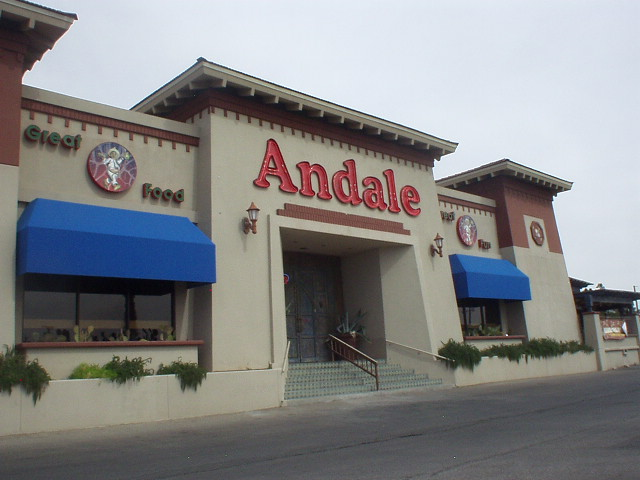 El paso tx for Andale fine mexican cuisine