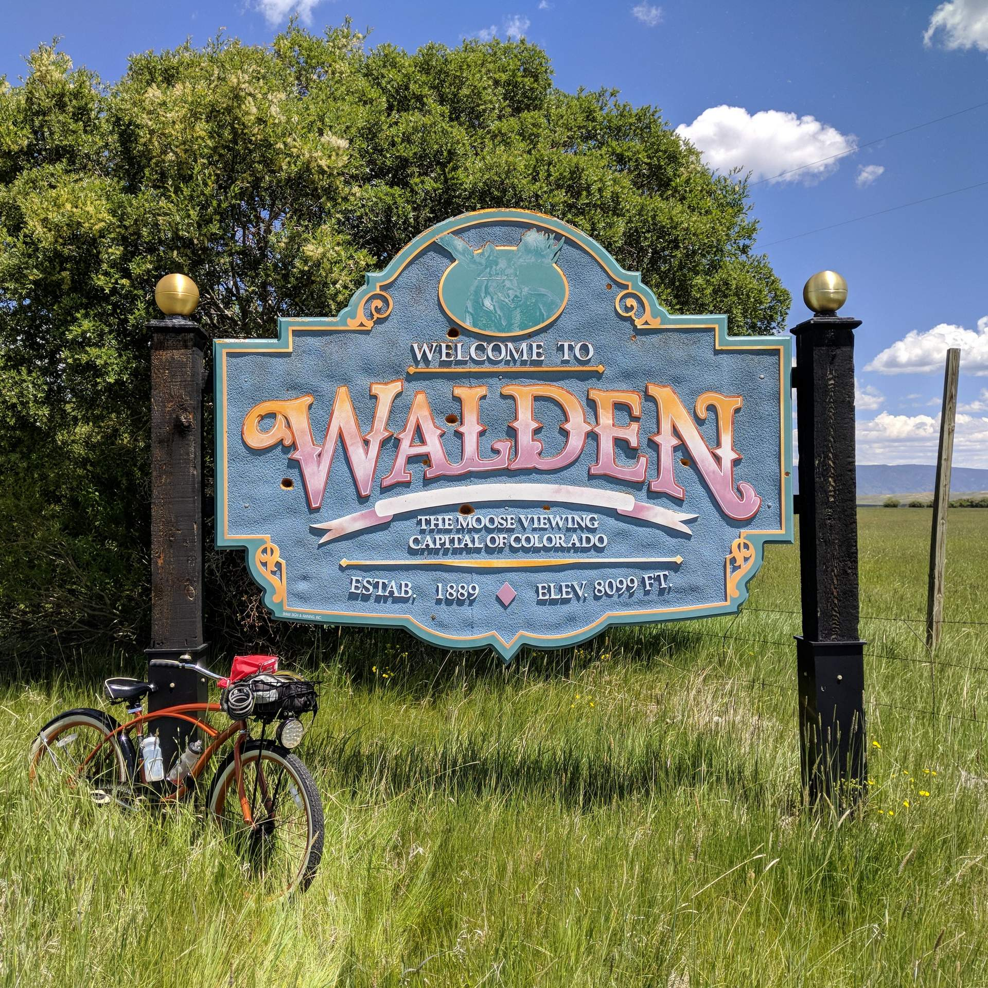 Featured photo for Fort Collins-Walden 200: Riding a Double Century on a 1-Speed Huffy Cruiser