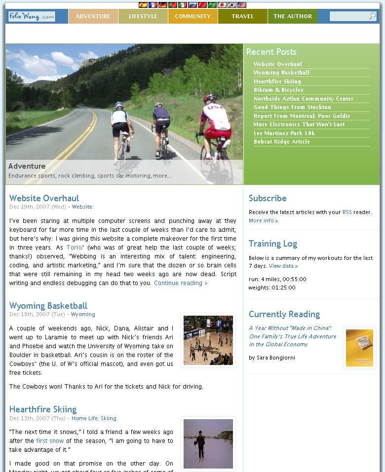 Featured photo for Website Overhaul