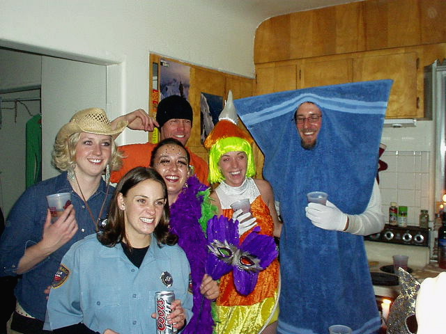 I was invited to this great costume party in Fort Collins.  That is not a real cop holding the Coors Light.