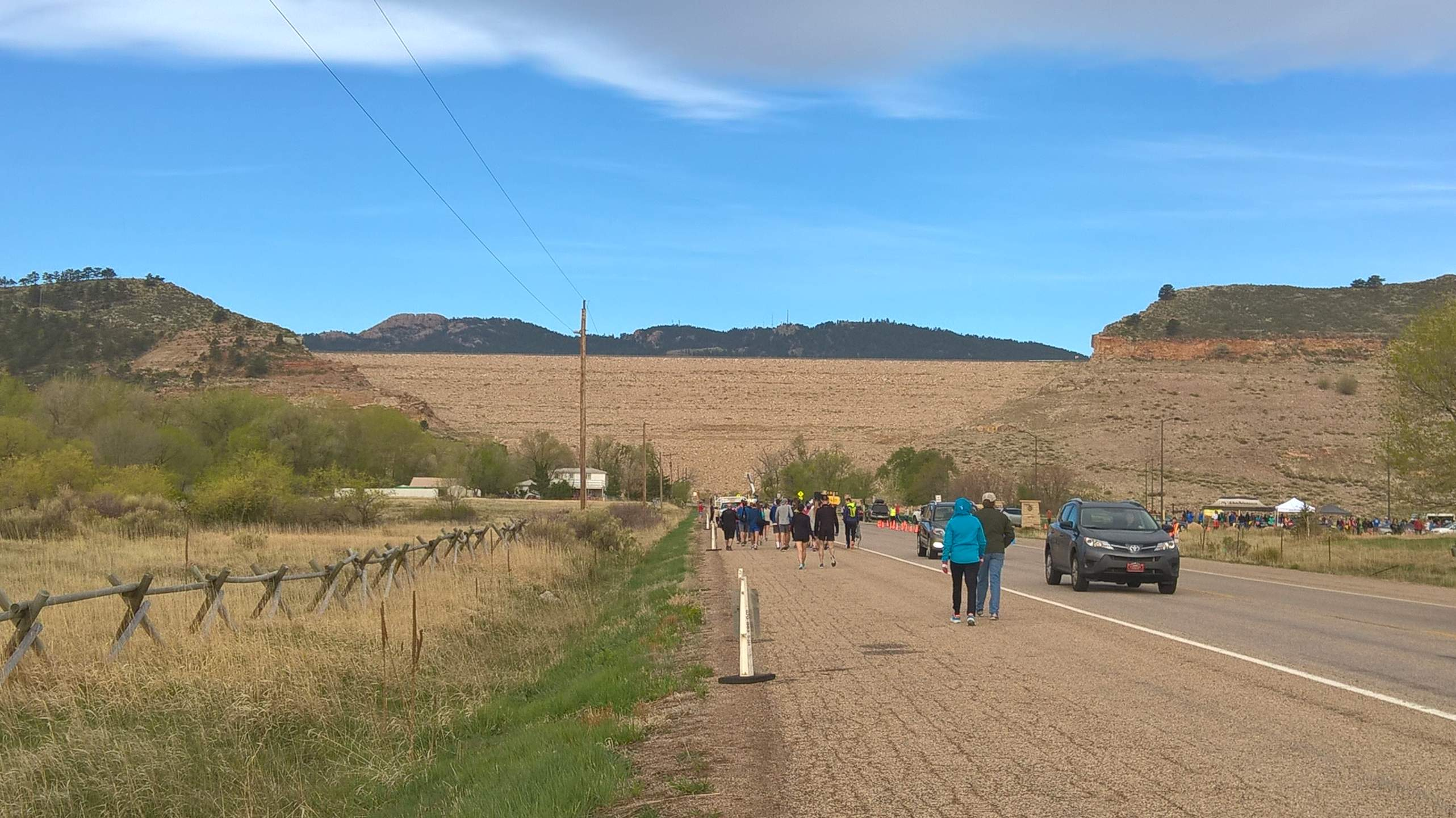 The 44th edition of the Horsetooth Half Marathon featured perfect weather for running.
