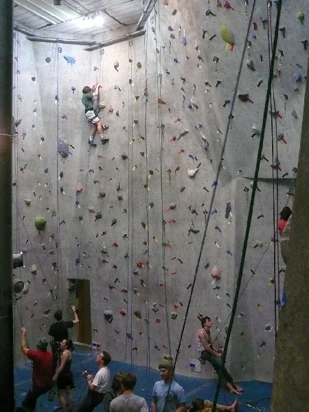Featured photo for Indoor Rock Climbing Article
