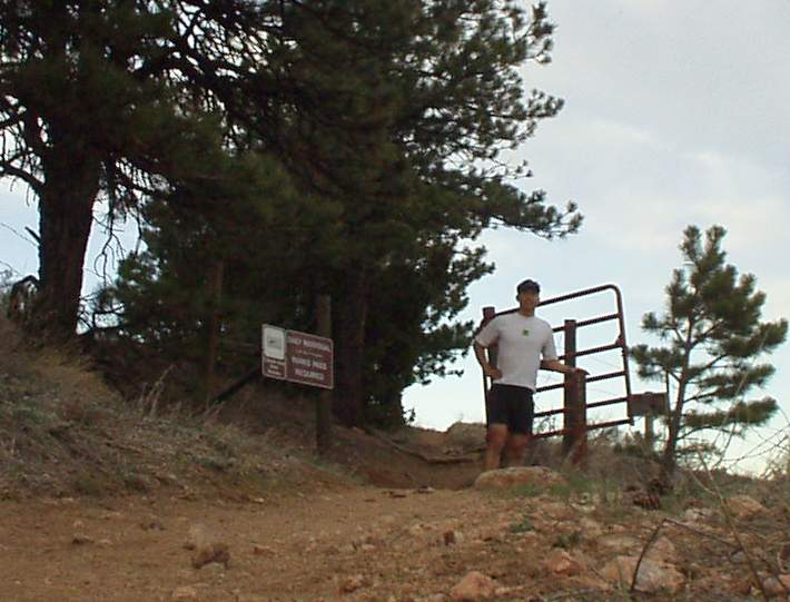 Now entering Horsetooth Park, which is right next to the southern end of Lory State Park.