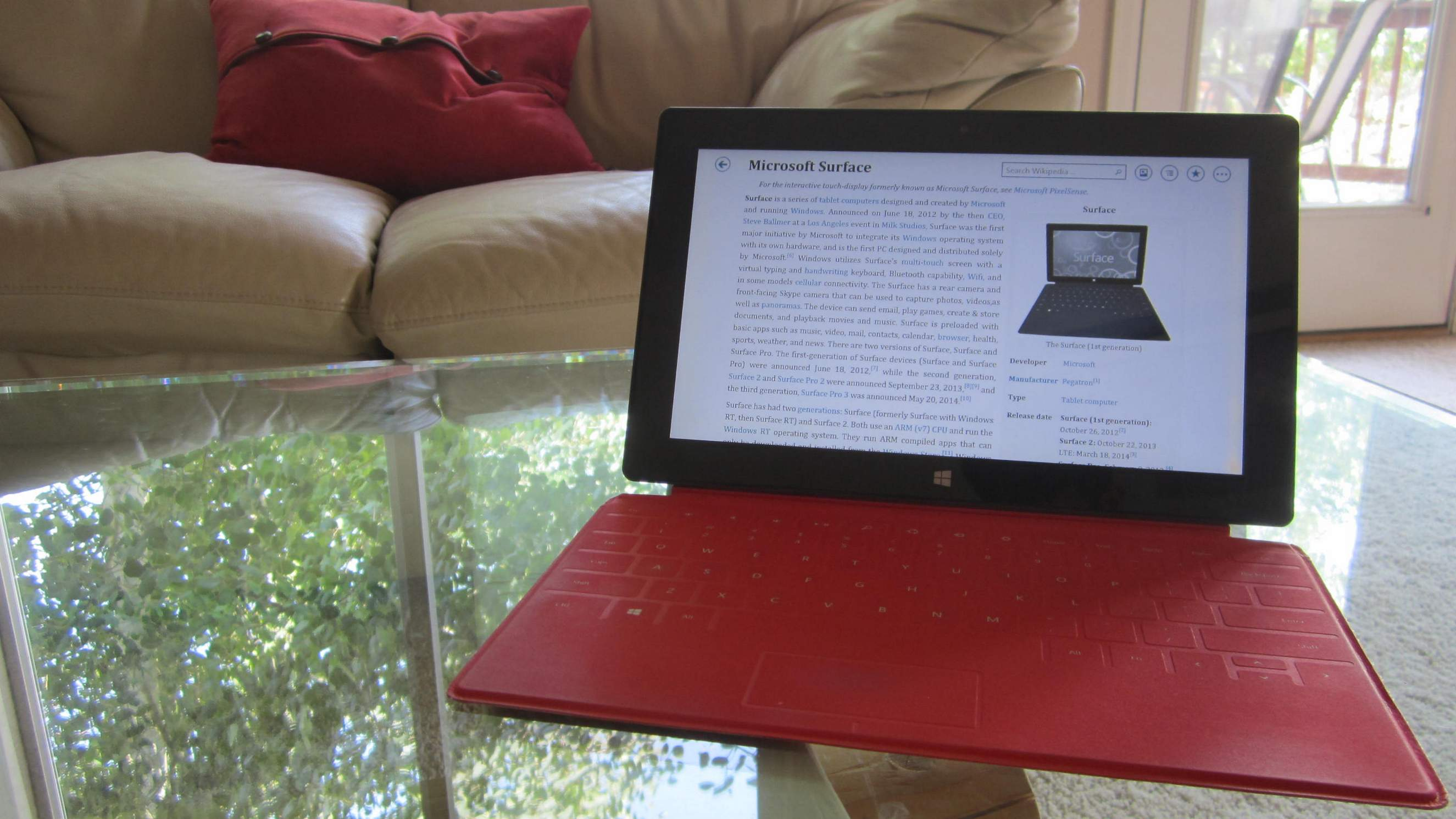 Despite being over 1.5 years old, the original Microsoft Surface RT continues to delight.