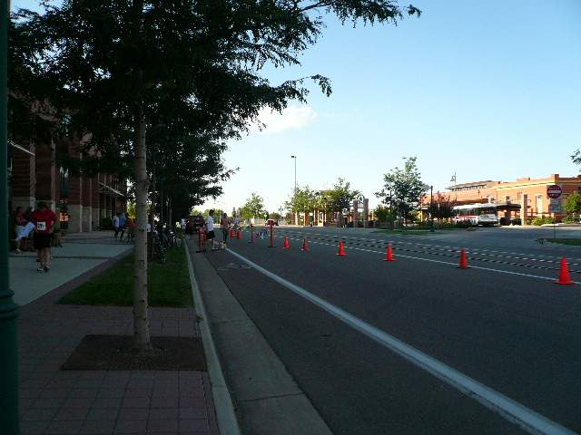 Mountain Avenue Mile race course, Fort Collins