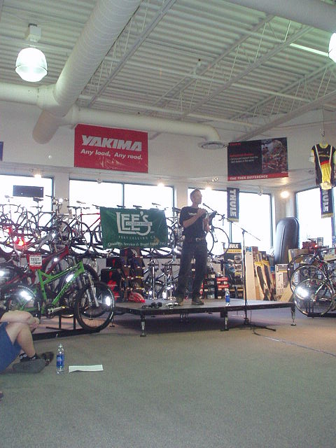 Featured photo for Ned Overend Presentation
