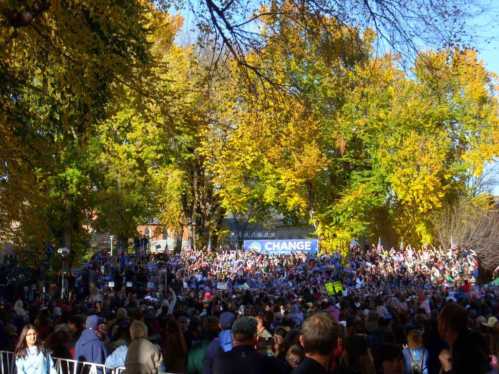 Featured photo for Barack Obama Fort Collins Rally