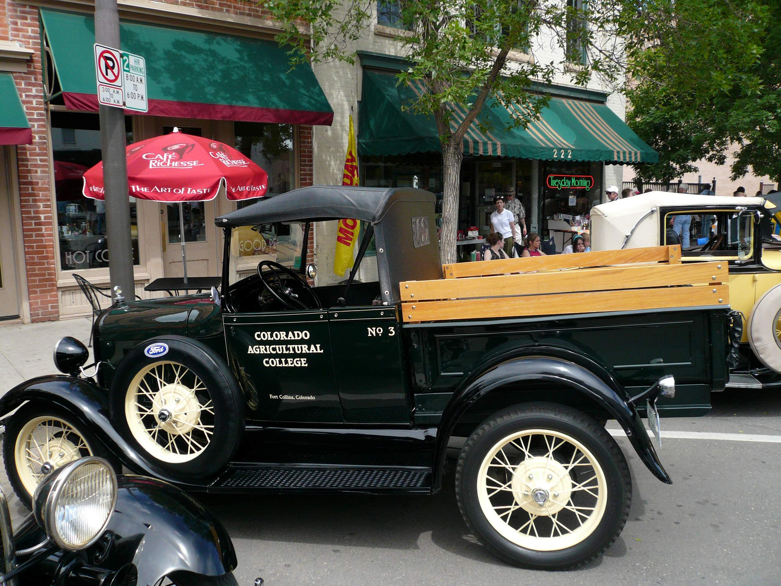 Old Town Car Show Fort Collins - Old town car show