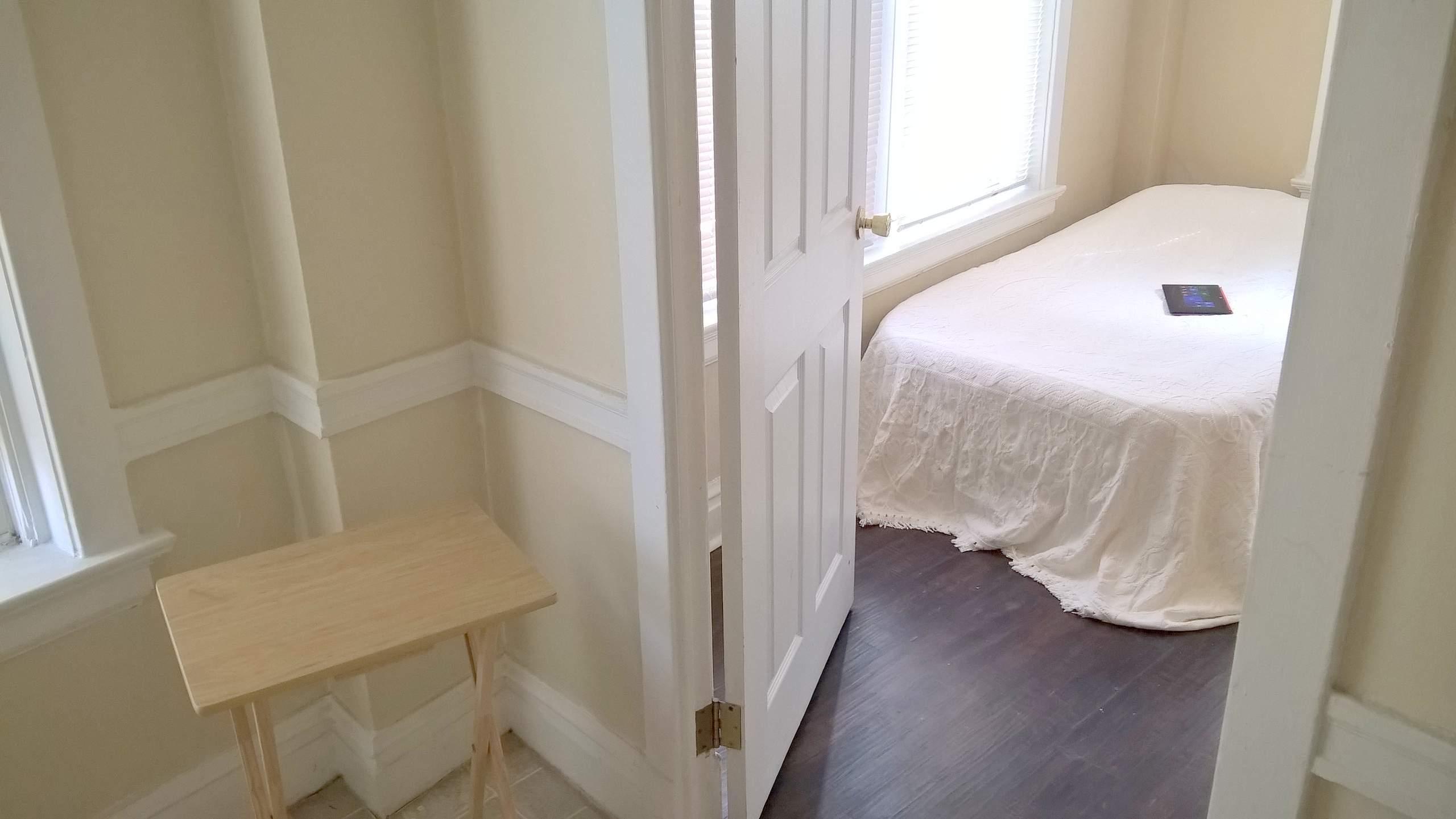 my minimalist apartment glasses tv tray white twin airbed minimalist