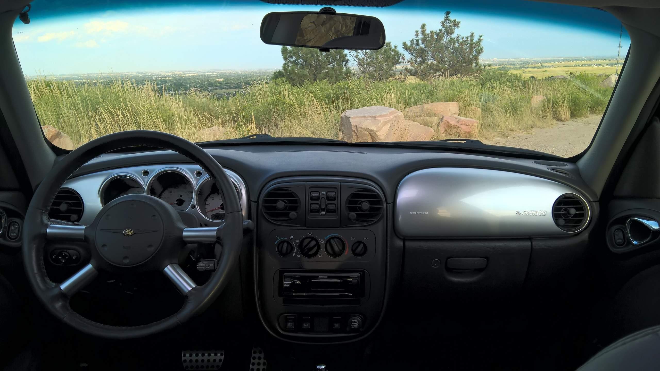 ... silver dash panels 2005 Chrysler PT Cruiser GT ... & 2005 Chrysler PT Cruiser GT