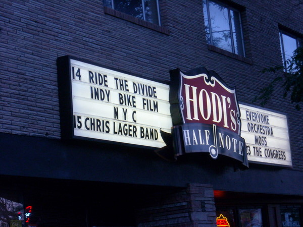 Ride the Divide movie at Hodi's Half Note