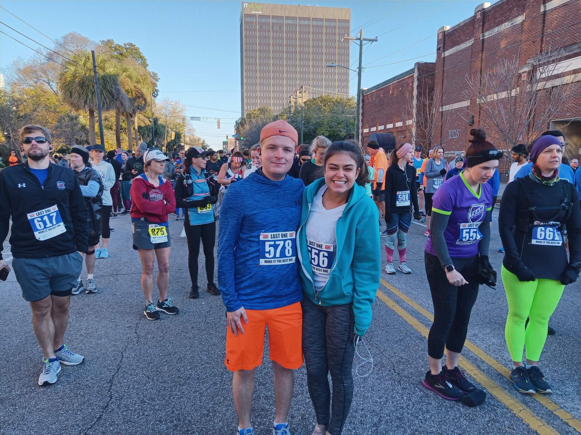 Run Hard Columbia Marathon
