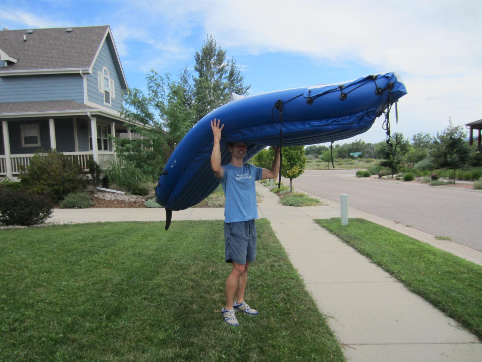 Featured photo for Kayak Sailing at Richards Lake