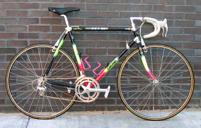 Historical Bicycles Of The Tour De France