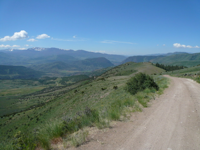 Day 17: More pretty mountains between Steamboat Springs and Silverthorne.