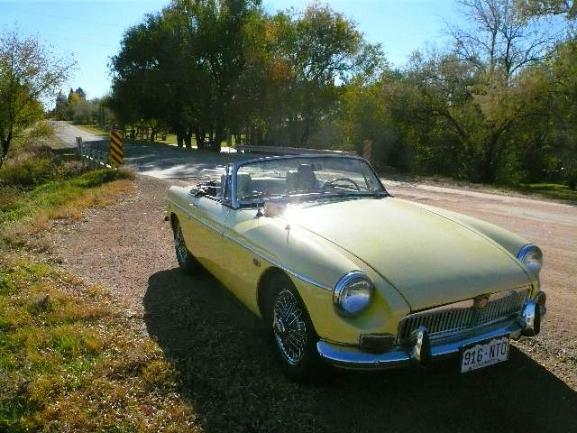 Featured photo for 1969 MGB