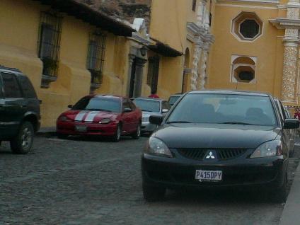 Vehicles In Guatemala