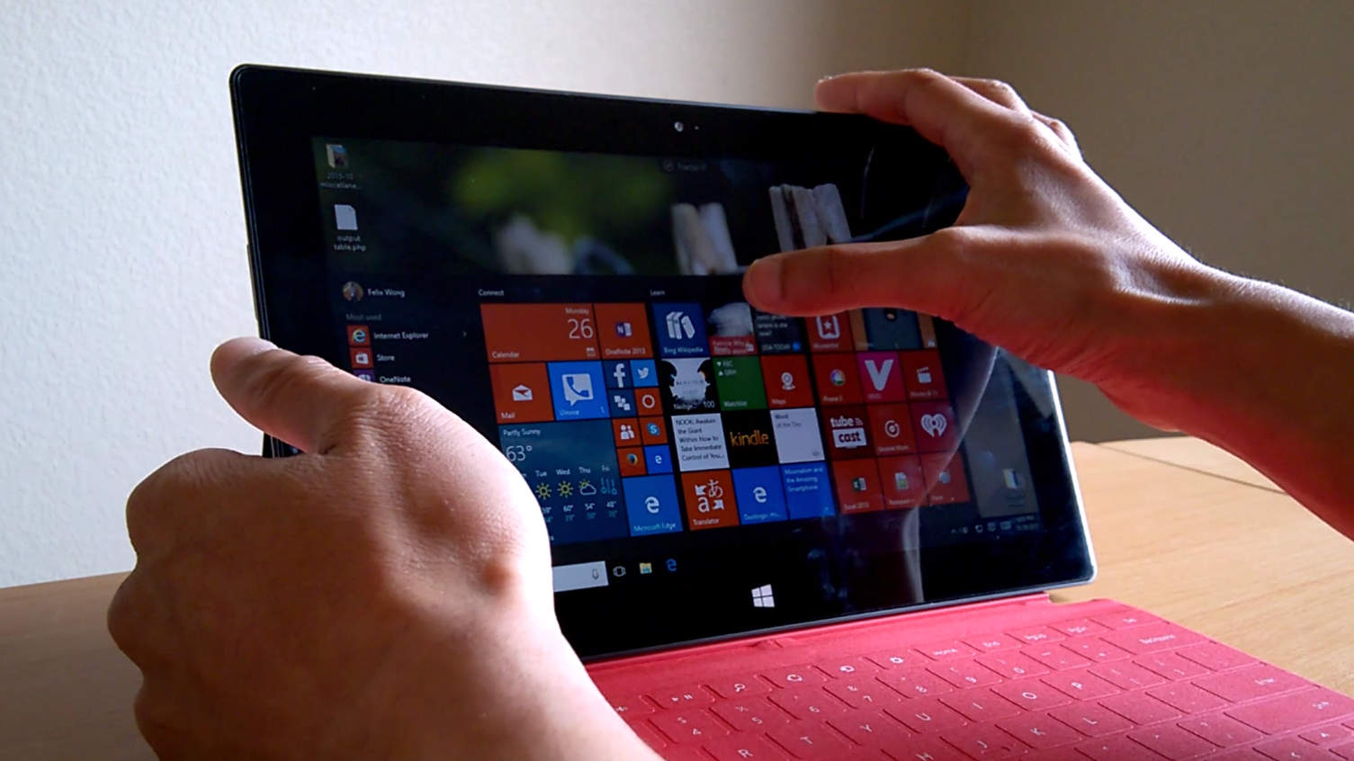 Featured photo for How to Use Windows 10 on a Microsoft Surface RT