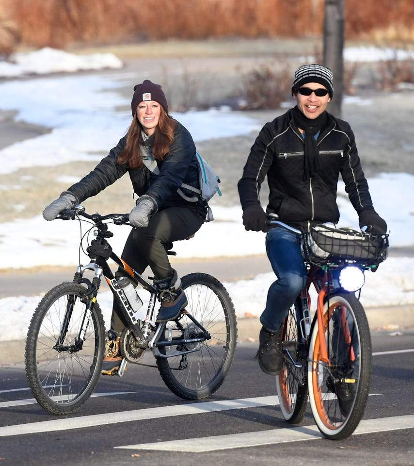 Featured photo for Winter Bike to Work Day