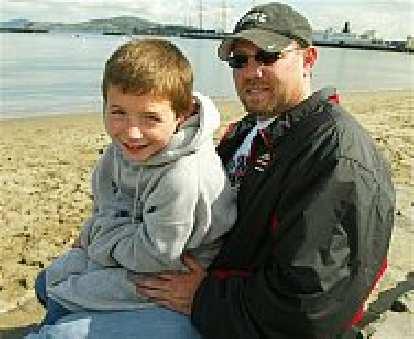 Thumbnail for Alcatraz Swim at 7-years-old