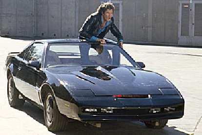 KITT, the de facto star of Knight Rider in the 1980s.