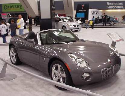 The Pontiac Solstice was a sensation on the show car circuit and even outsold the Mazda Miata in the U.S. during its production run.