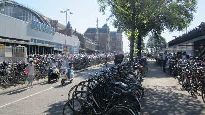 So many bicycles!