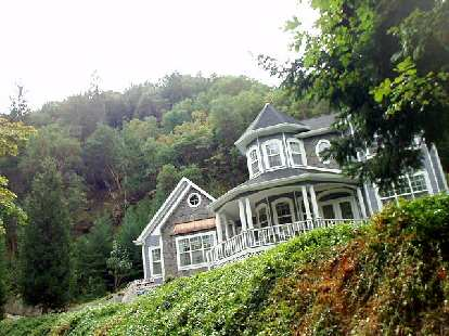 The homes near Lithia park were particularly gorgeous but expensive!