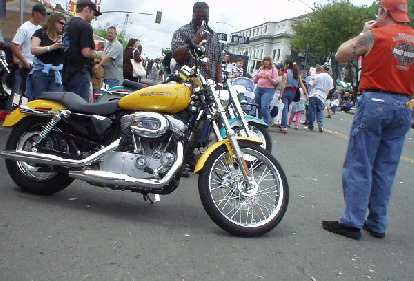 A Harley Sportster, I think.
