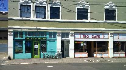 Rio Cafe, Astoria, Oregon