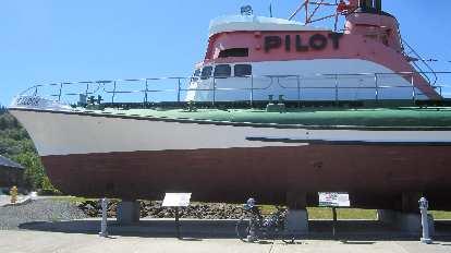 black 2010 Litespeed Archon C2, Pilot boat, Astoria, Oregon