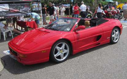 Ferrari 348 Spider from the 1990s.
