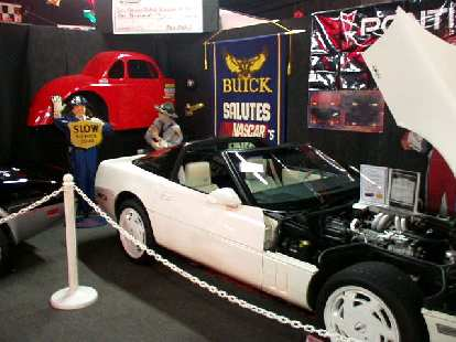 This is a 1988 Special Edition Corvette, all white inside and out except for the roof (which was black).