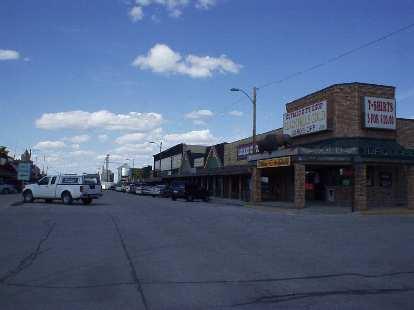 [Mile 103, 2:44 p.m.] The town of Wall, South Dakota.