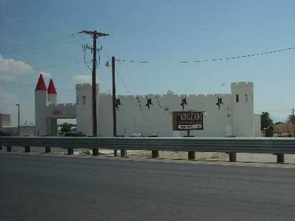 Passing by Pahrump, NV where there seemed to be a lot of these adult-themed places.