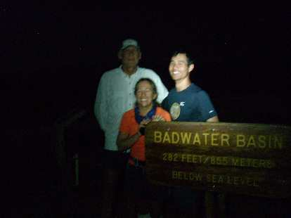 Made it back to Badwater after 139.8 hours!