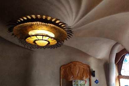 Ceiling detail in Casa Balló.