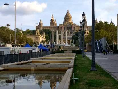 Font Màgica de Montjuic in Barcelona, Spain.