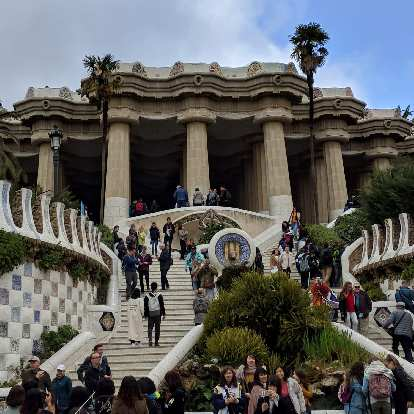 The iconic part of Parque Güell requires an admission ticket nowadays. Most of the rest of the park is still free.