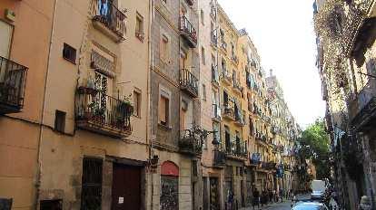 Apartments near Barceloneta.