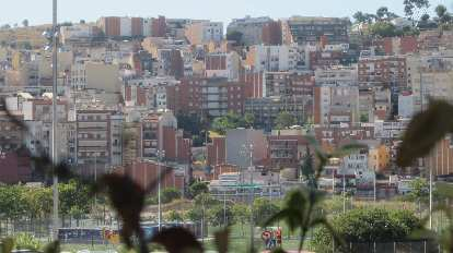Apartments near La Vall d'Hebron in the north part of Barcelona.