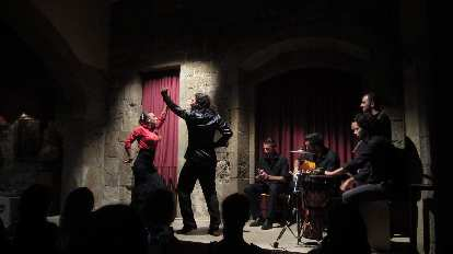 Katia and I went to see this flamenco show on our last night in Barcelona.
