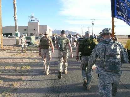 Mile 2: Onward march!